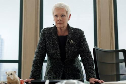 Dame Judi Dench as M