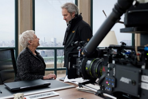 Dame Judi Dench with Sam Mendes