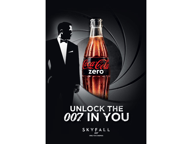 Coke zero ad to 'Unlock the 007 in you' goes viral