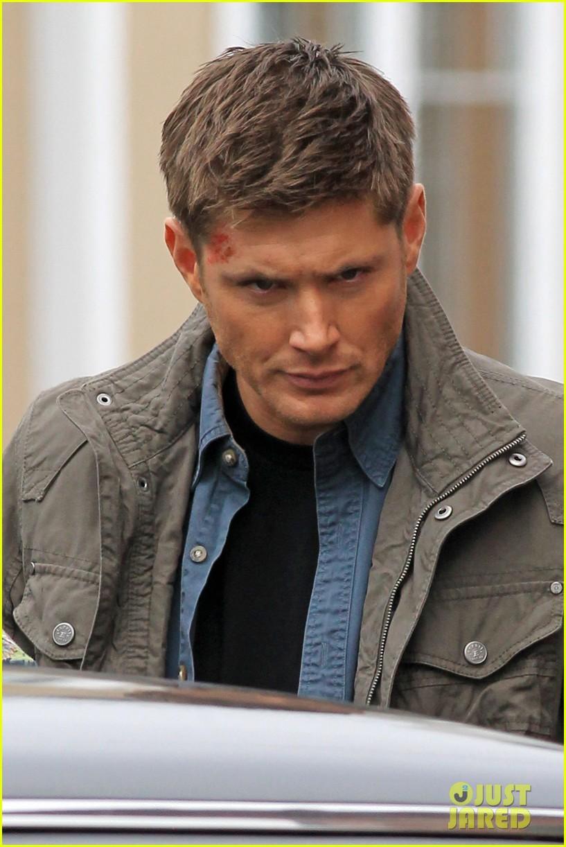 Jensen Ackles & Jared Padalecki Film Serious Scenes For ...