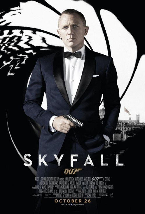Skyfall-poster-daniel-craig-movie-james-bond | Camara Oscura