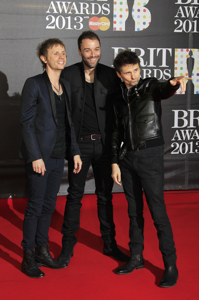 Muse attends 2013 brit awards camara oscura the trio matthew bellamy dominic howard and christopher wolstenholme are nominated for british group and british live act they will also be performing at voltagebd Image collections