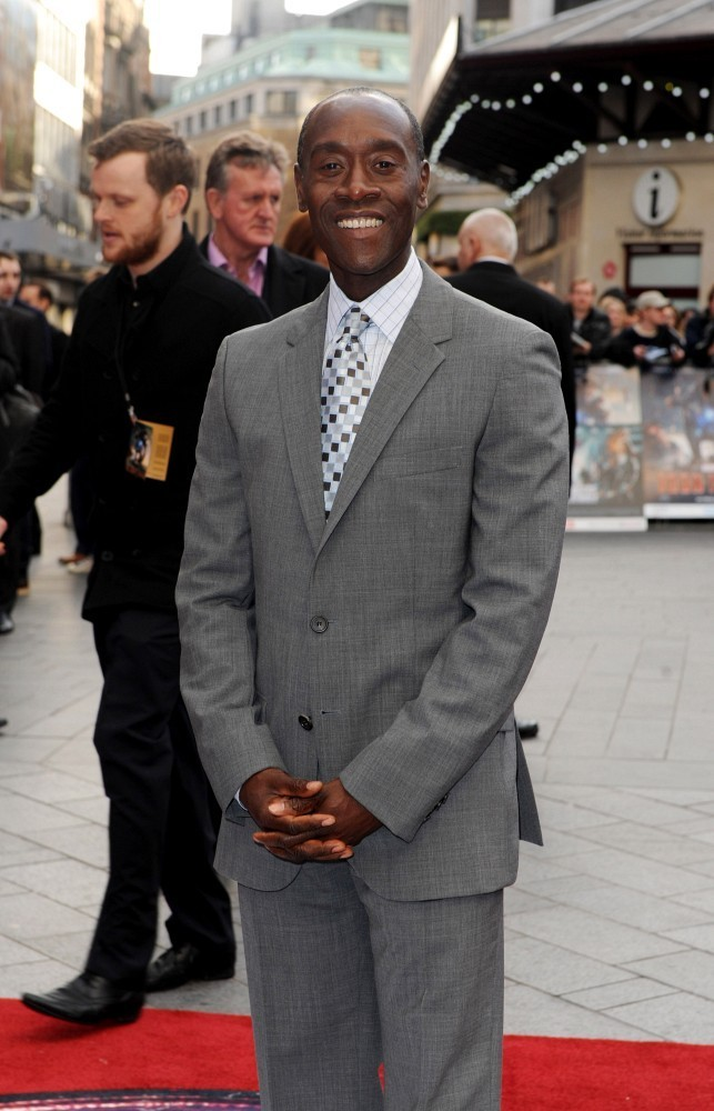 Don Cheadle Attends    IRON MAN 3    UK PremiereDon Cheadle Iron Man 3