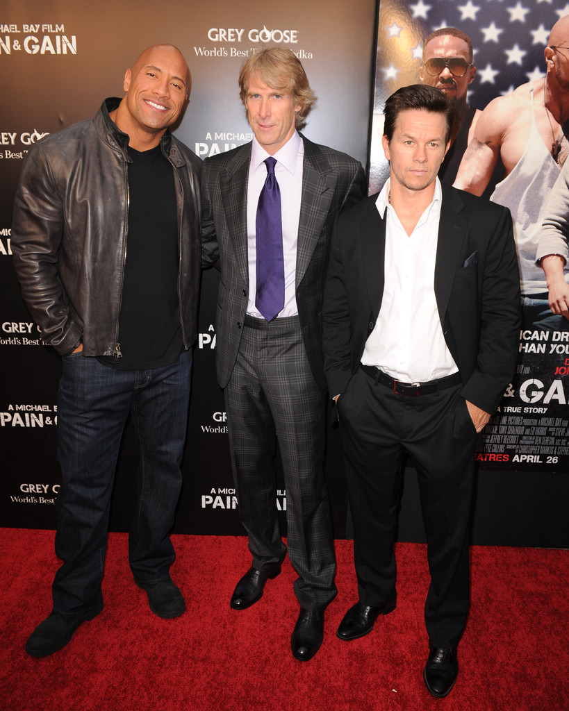 Mark Wahlberg Attends Pain Amp Gain Premiere In Florida