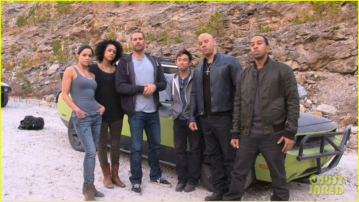 Last Photos of Paul Walker Filming 'FAST & FURIOUS 7′ Scenes