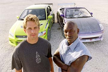 Fast And Furious 2001 Paul Walker Tyrese Gibson Pays Tri...