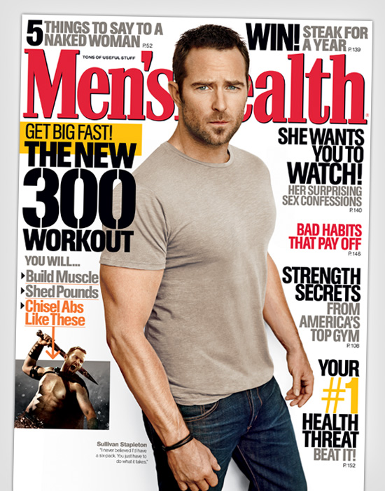 how to become a mens health model