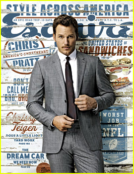 chris pratt esquire mag cover