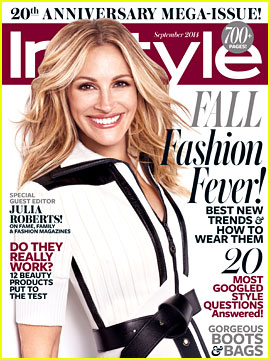 julia roberts in style mag cover