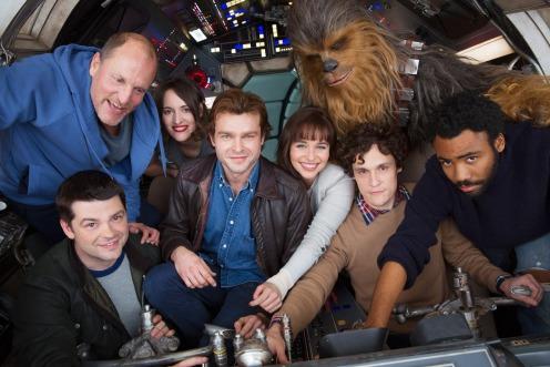 Han Solo cast header